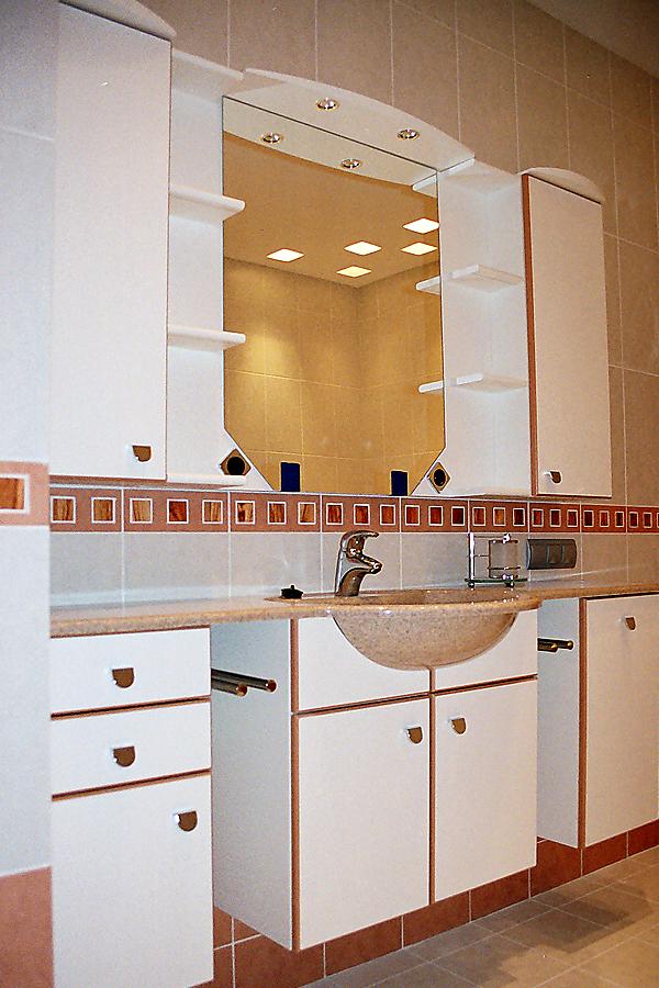 Мебель в ванной