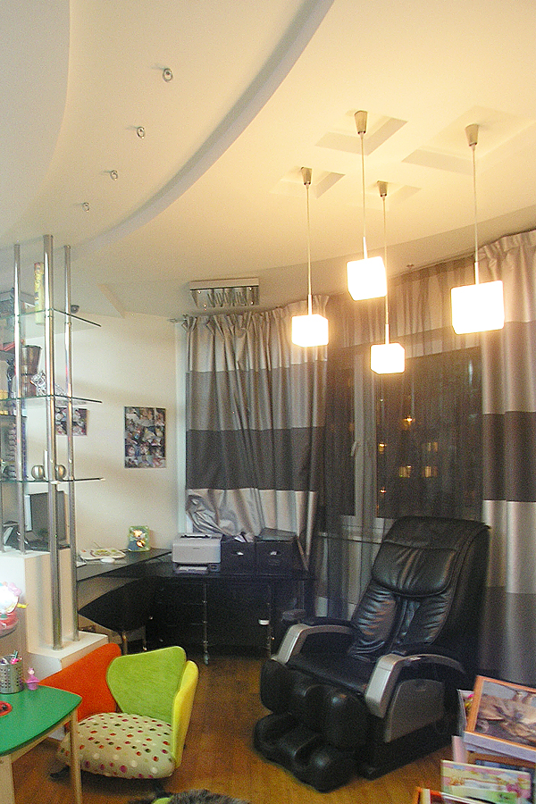 светильники в гостиной